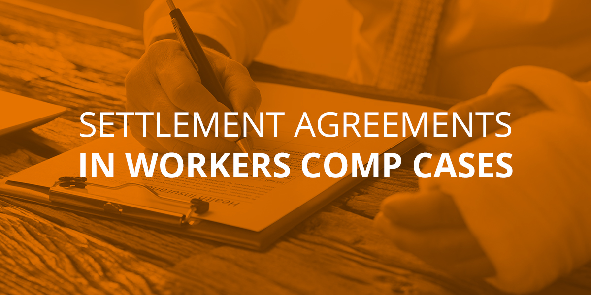 Settlement Agreements in NC Workers' Comp Cases